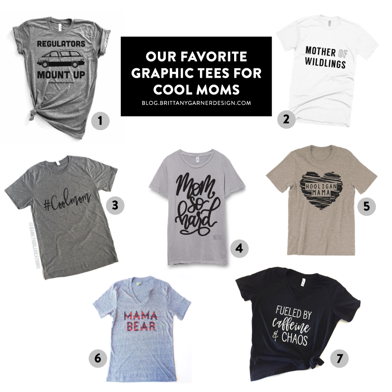 cool tees for cool moms