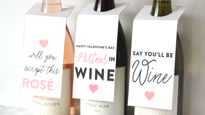 galentine day wine gift