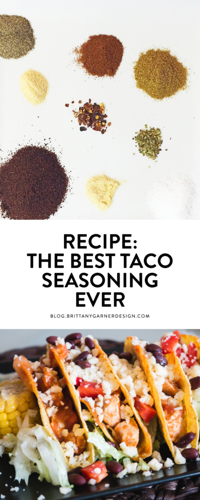 recipe for the best taco seasoning ever