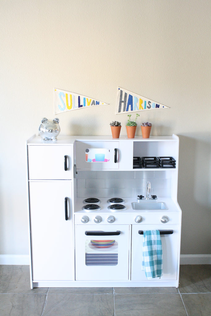 Play Kitchen Makeover: After