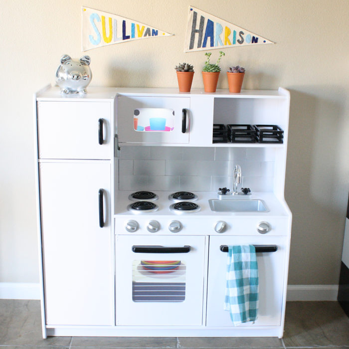 Play Kitchen Remodel: After
