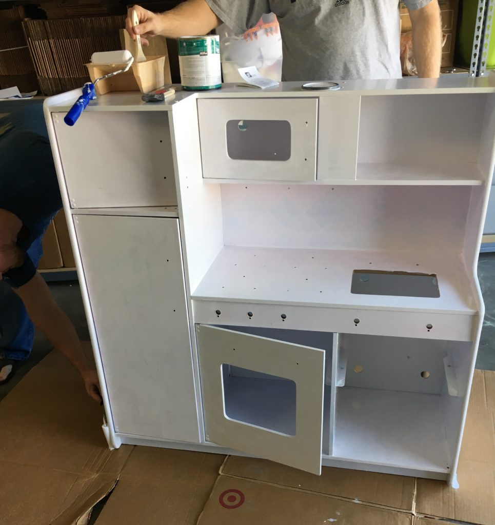 Play Kitchen Remodel: During