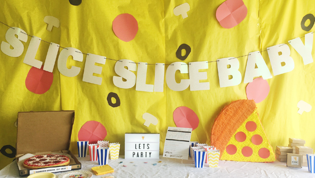 SLICE SLICE BABY the ultimate pizza party